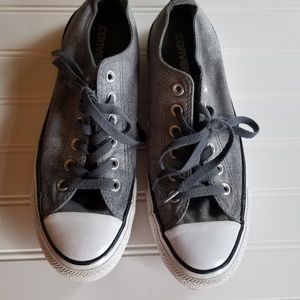 Converse All Star Gray Women Size 8 Sneakers